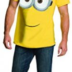 Rubie's Costume Co Men's Minion Costume T-Shirt, Yellow, X-Large