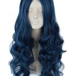 Topcosplay Womens Wig Wave Long with Braid Halloween Costumes Cosplay Wig Adult Teens