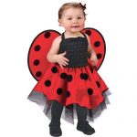 Ladybug Costume Baby One Size Fits Up To 24 Months