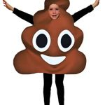 Favorite Emoticon Emoji Costumes for Boys and Girls (Child, Poo)