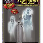 Forum Novelties Ghostly Spirits Indoor/Outdoor Ghost Wall Decoration, 5′, Multicolor
