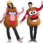 Toy Story Mr. or Mrs. Potato Head Deluxe Halloween Costume – Adult Size X-Large 42-46