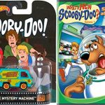 What's New Scooby-Doo? Cartoon & Mystery Machine – Space Ape at the Cape DVD & Hot Wheels Mystery Machine Die-Cast Van Bundle Vol. 1 Animated Set
