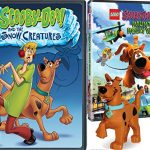 Lego Scooby: Haunted Hollywood DVD & Snow Creatures Scooby-Doo Lego Figure Bundle Mystery Inc. set Double Feature