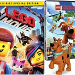 Lego Scooby: Haunted Hollywood & The Lego Movie 2 disc DVD Special Edition Lego Figure Bundle Mystery Inc. set Double Feature