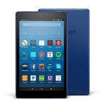 All-New Fire HD 8 Tablet with Alexa, 8″ HD Display, 16 GB, Marine Blue – with Special Offers