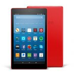 All-New Fire HD 8 Tablet with Alexa, 8″ HD Display, 16 GB, Punch Red – with Special Offers