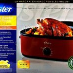 Oster 24 Pound Roaster Oven, High Dome Lid, Red